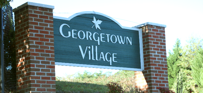 Galt Court Georgetown Village Sign